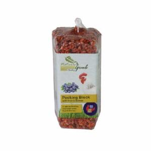 Natures Grub Pecking Block with Fruit and Berries 280g