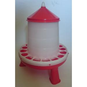 Red and White Feeder with Legs 4kg