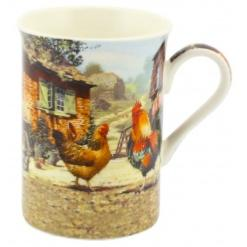 Cockerel and Hen Large Mug