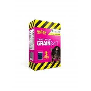 Racan Force Grain Bait Rat Killer 3 x 25g