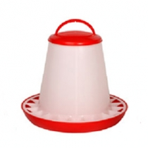 Eton Red and White Poultry Feeder 5kg