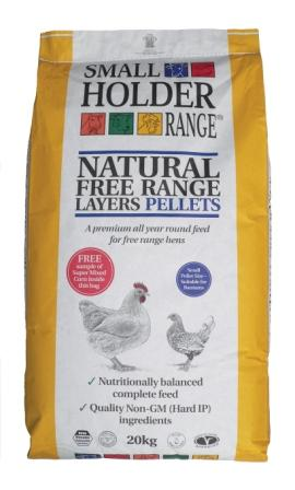 Smallholder Natural Free Range Layers Pellets 20Kg