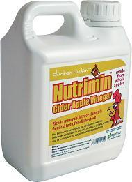 Agrivite Chickin Lickin' Nutrimin Cider Apple Vinegar 1 Ltr