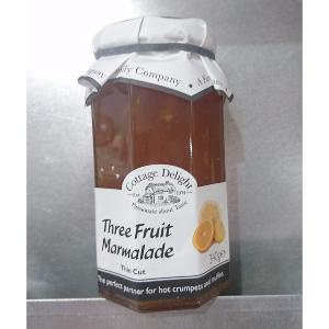 Cottage Delight Three Fruit Marmalade Thin Cut 340g