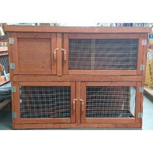 4ft Double Hutch - Summer Version