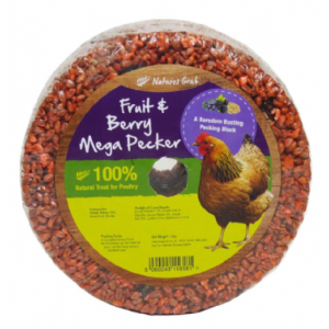 Natures Grub Mega Pecker with Fruit and Berries 1.2kg