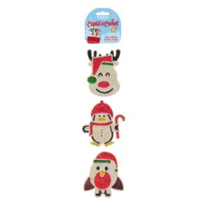 Rosewood Cupid & Comet Paw Licking Festive Treat - 3 Pack
