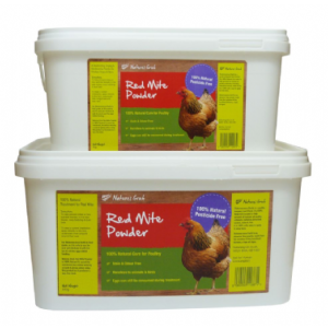 Natures Grub Red Mite Powder (Diatomaceous Earth) 2kg