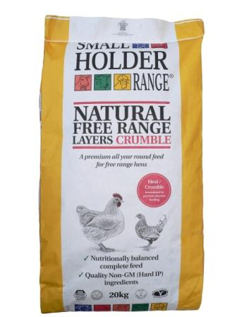 Smallholder Natural Free Range Layers Meal/Crumble 1kg