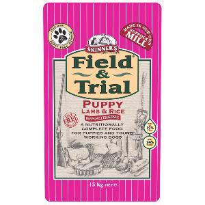 Skinners Field and Trial Puppy Lamb and Rice 2.5kg