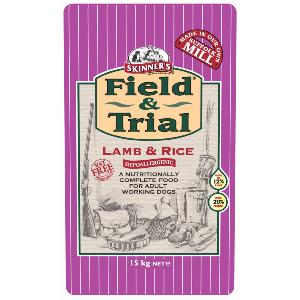 Skinners Field and Trial Lamb and Rice 15kg