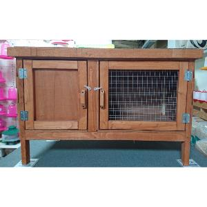 3ft Single Hutch with 2 Doors