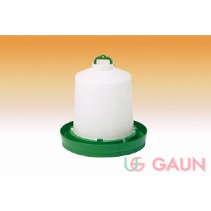 Gaun 8.5ltr Drinker Orange/Green & White