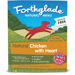 Forthglade Natural Menu Chicken with Heart 18 Pack
