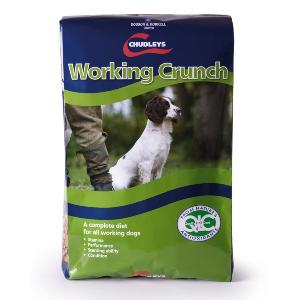 Chudley's Working Crunch Dog Food 15kg