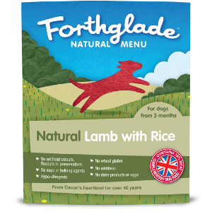 Forthglade Natural Menu Lamb with Rice