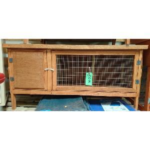 4ft Single Hutch with 2 Doors