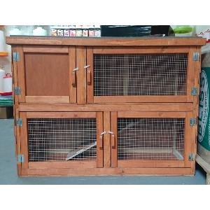 4ft Double Hutch - Winter Version