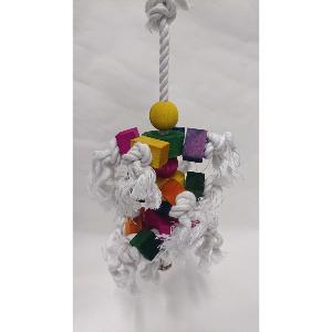 Stockshop Hanging Rope Toy for Chickens