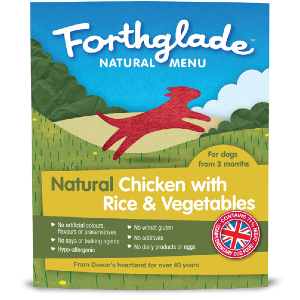 Forthglade Natural Menu Chicken with Rice and Vegetables