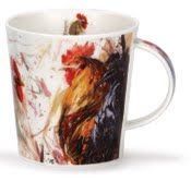 Dunoon Cairngorm Fine Bone China Chickens on Canvas
