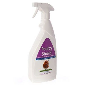 Poultry Shield 750ml Ready To Use Spray Bottle