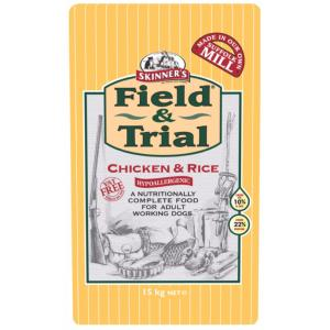 Skinners Field and Trial Chicken & Rice 15kg