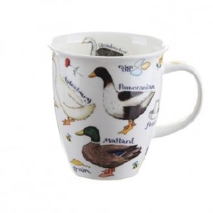 Dunoon Nevis Fine Bone China Farm Breed Ducks