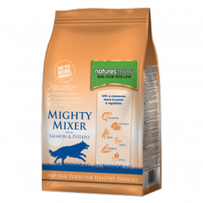 Natures Menu Mighty Mixer with Salmon and Potatoes 2kg